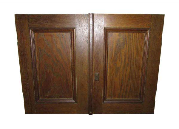 One Panel Closet Double Doors