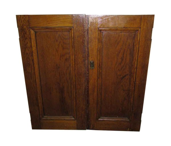 One Panel Cabinet Double Doors