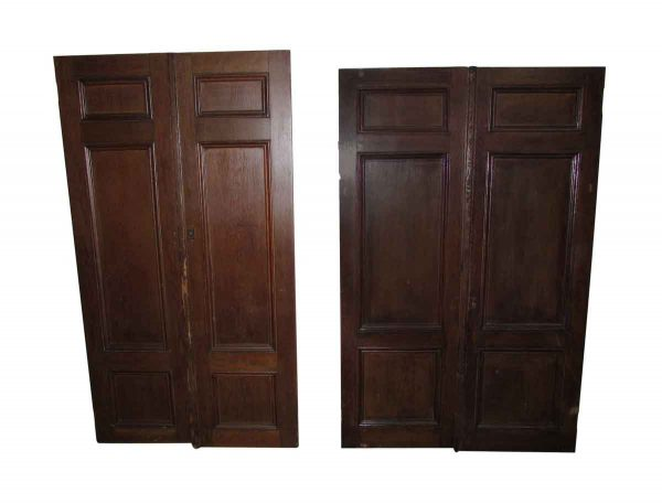 Three Panels Closet Double Doors