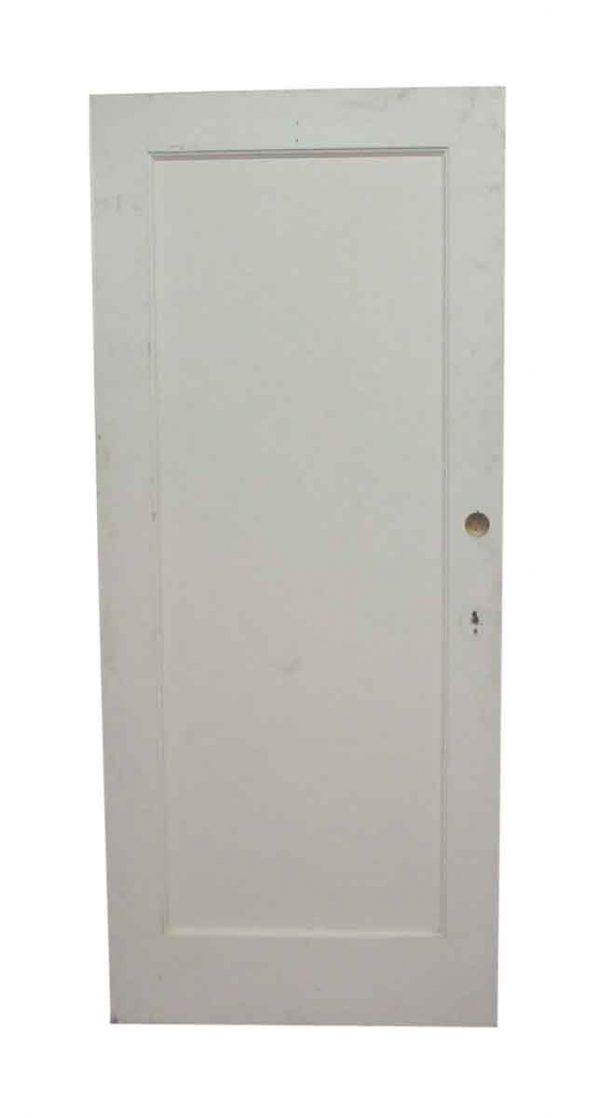 Single Panel Apartment Door
