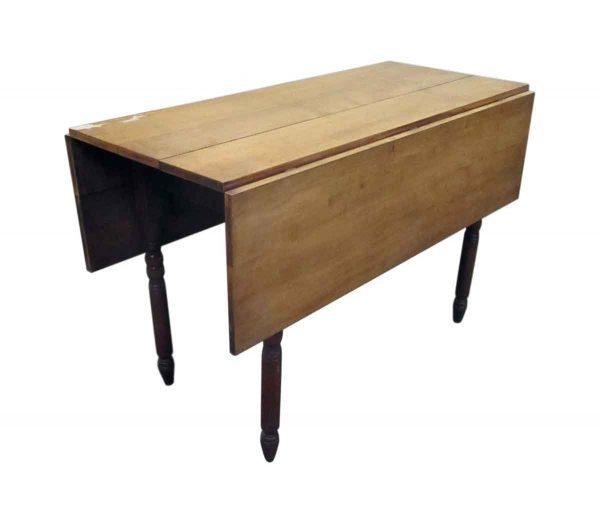 Vintage Spindle Legged Drop Leaf Table