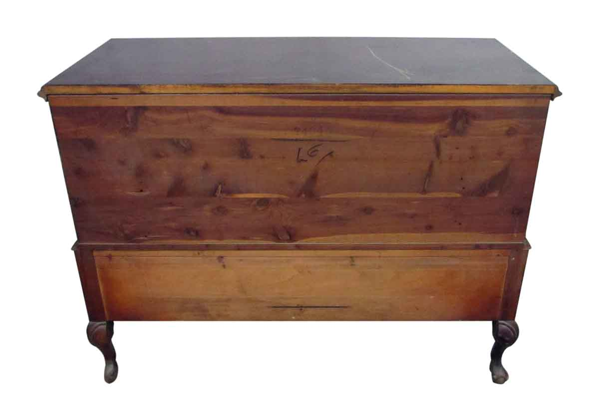 Wooden Claw Foot Chest