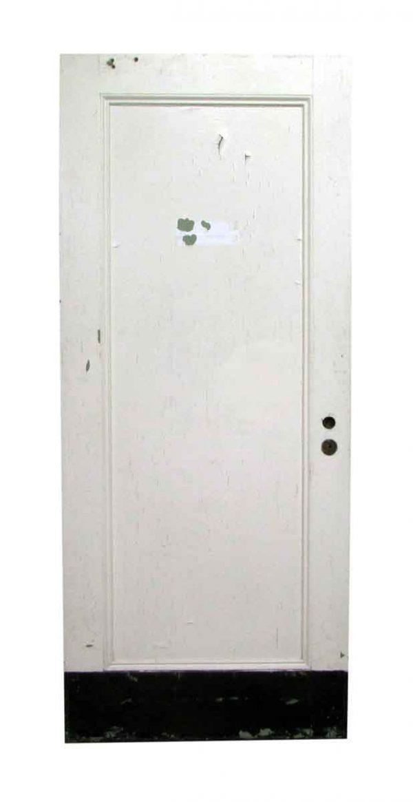 One Panel Swinging Wooden Door