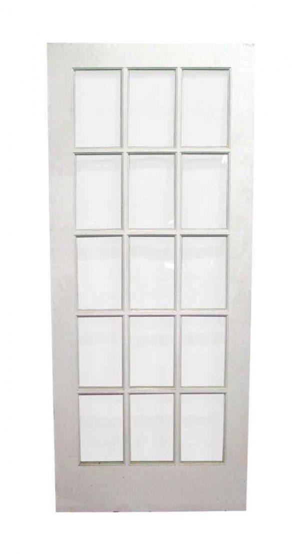 15 Panel French Single Door