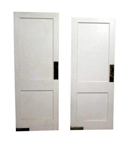 Two Panel Swinging Door