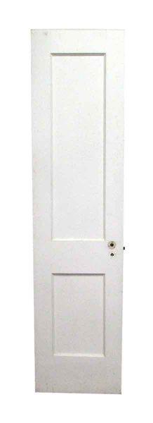 Two Panel Narrow Wooden Door