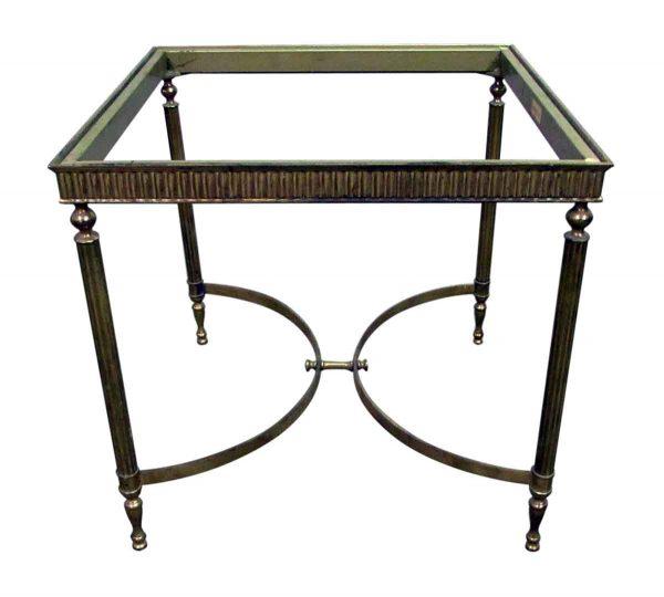 Brass Italian Side Table Base