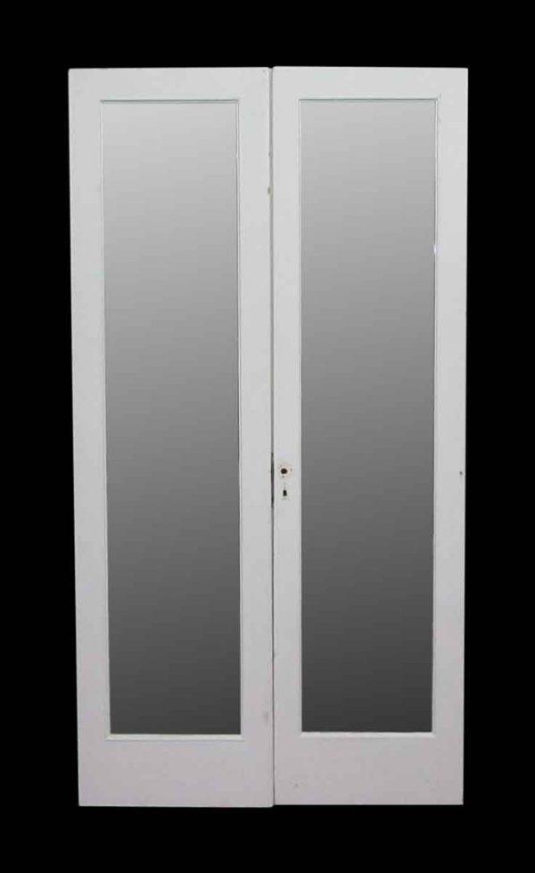 Mirrored Double Doors