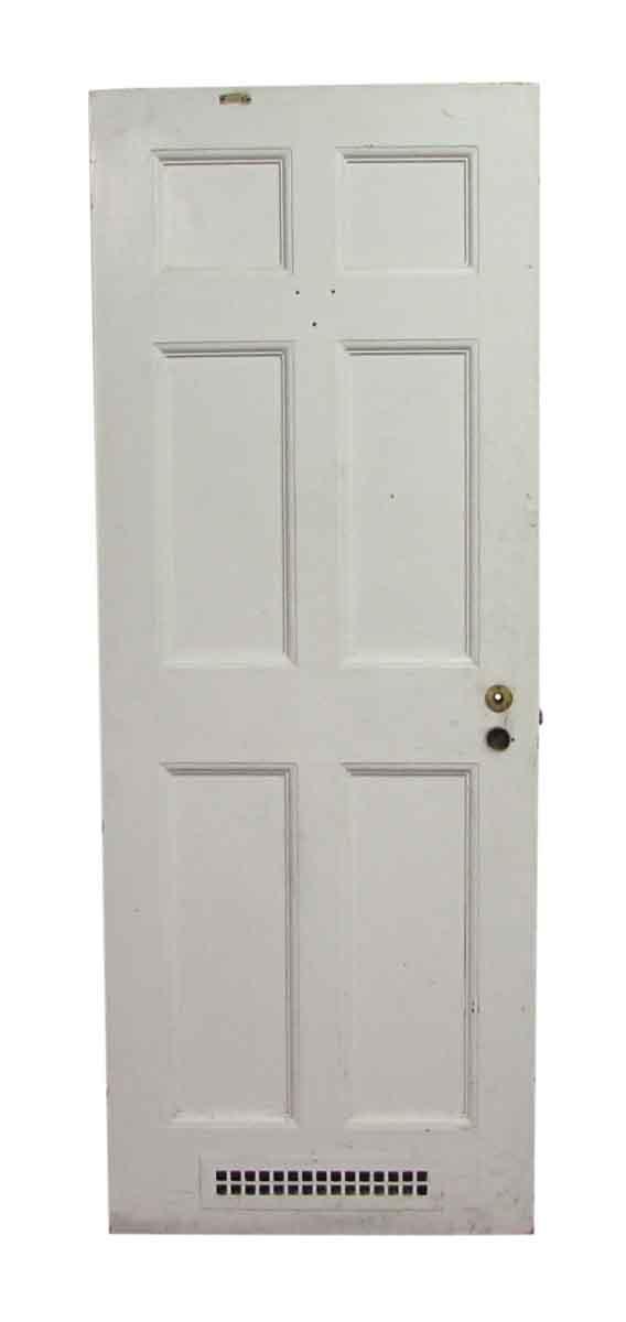 Six Panel Door with Bottom Vent