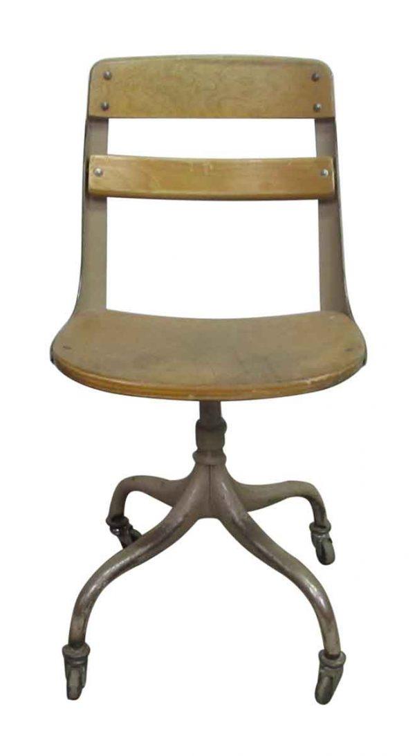 1960s Rolling School Chair