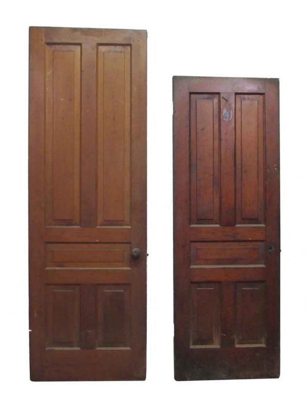 Five Vertical Panel Doors