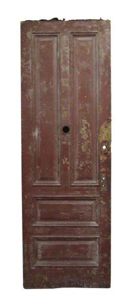 Four Panel Apartment Door