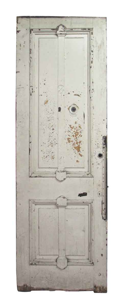 Four Vertical Panel Apartment Door M228923