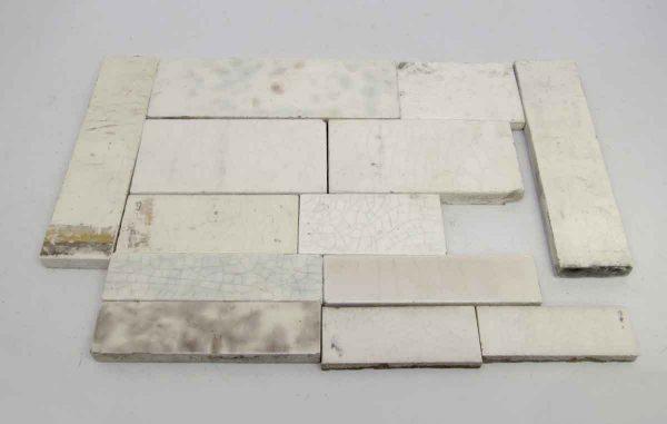 Set 13 White Assorted Tiles