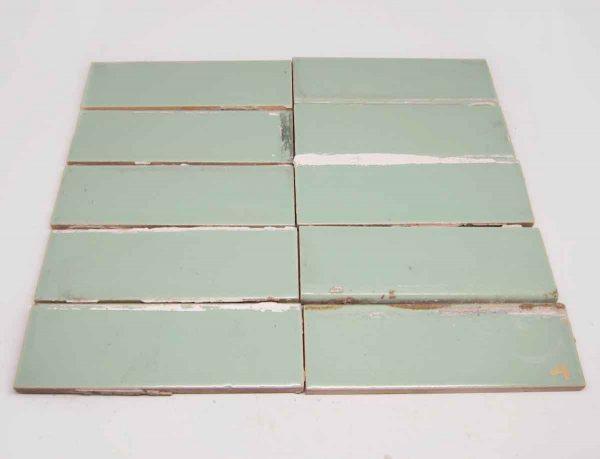 Mint Green Bull Nose Tile Set