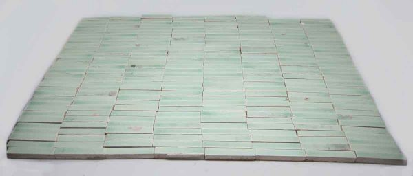 Small Mint Green Tiles