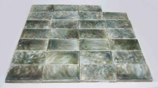 Green & Blue Mixed Tile Set