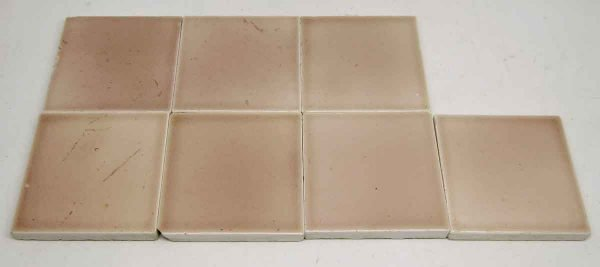 Pink Squares Tile Set