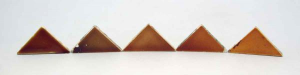 Set of 5 Triangular Tiles