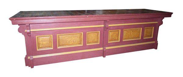 Pink Oak Countertop
