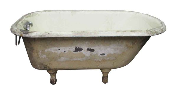Reclaimed Worn Bathtub