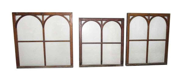 Art & Crafts Four Arched Windows