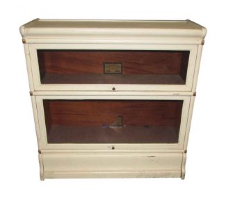white barrister bookcase - Antique Looking Bookshelves