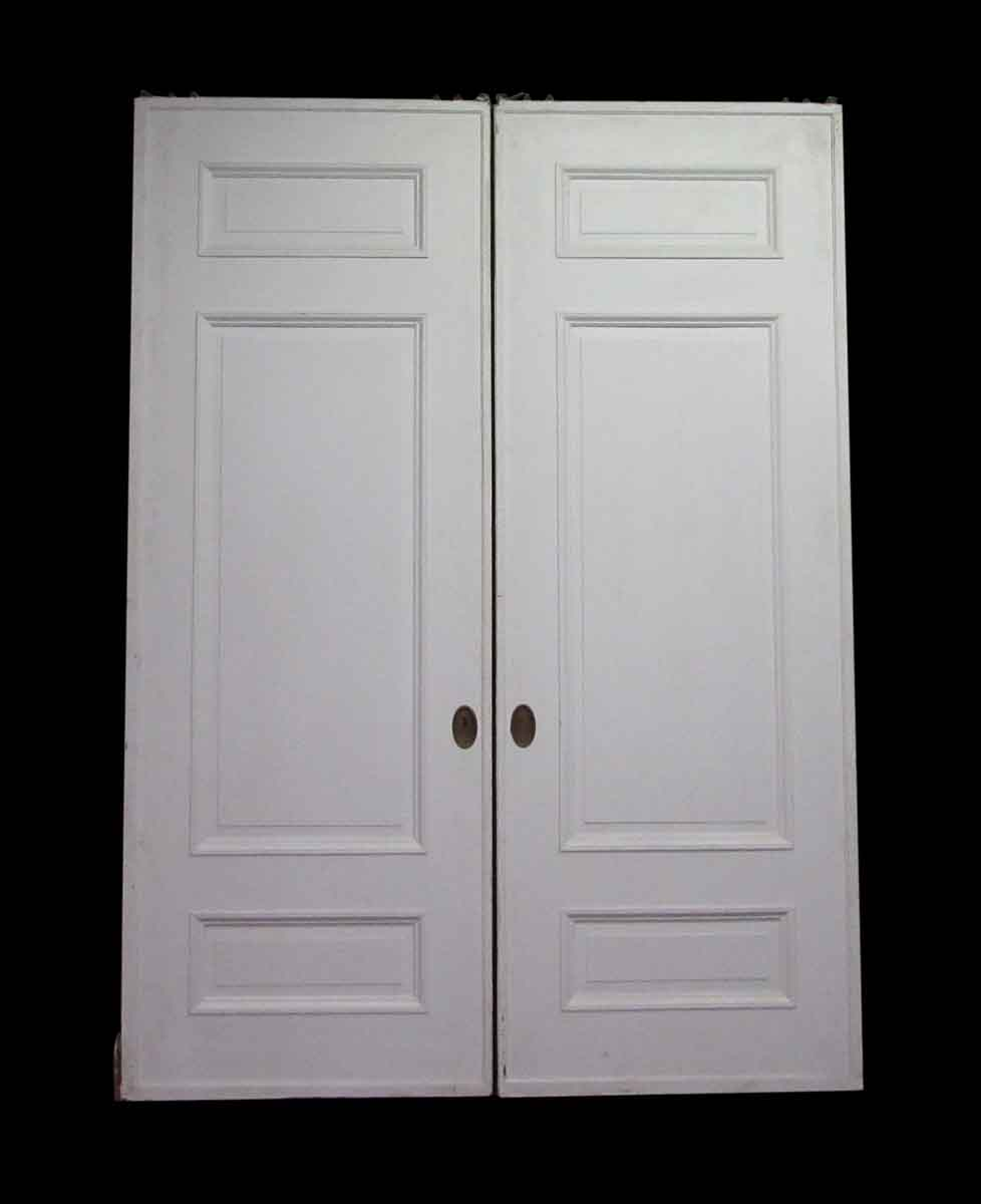 Three Panel Double Pocket Doors | Olde Good Things