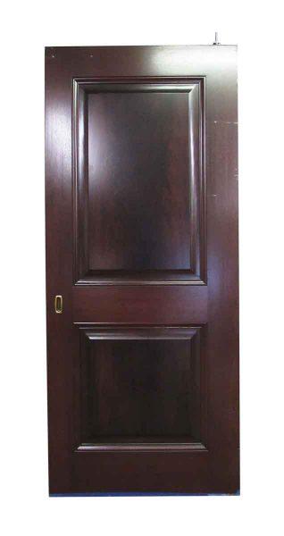 Two Panel Pocket Door