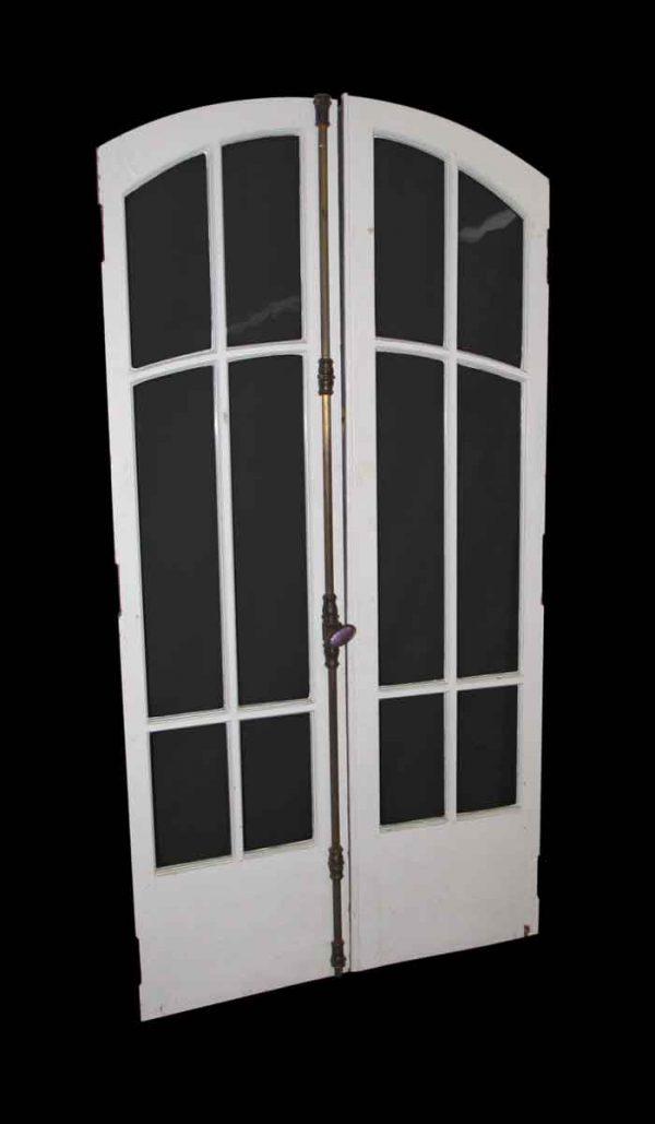 Arch Double Wooden Doors