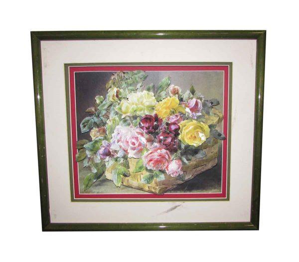 Raised Floral Bouquet Picture