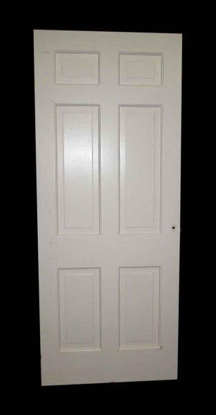Six Panel Door with Mirror on One Side
