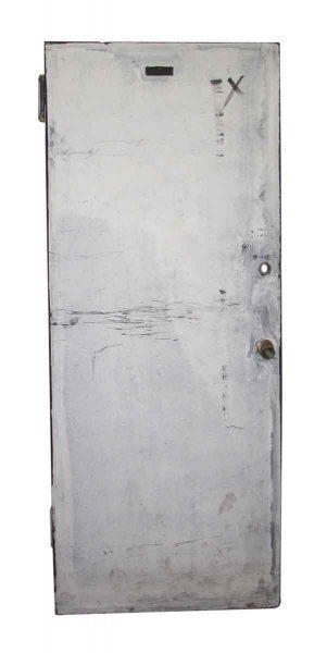 Metal Fire Door with Bomber Hinges