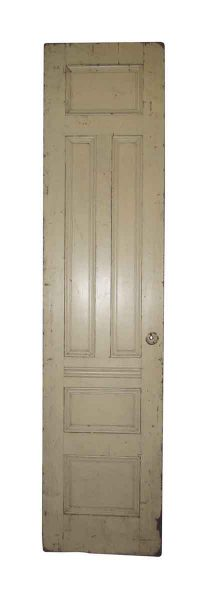 Single Brownstone Parlor Door