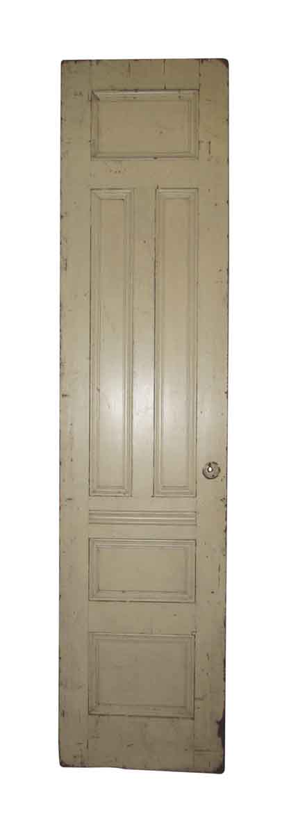 Single Brownstone Parlor Door