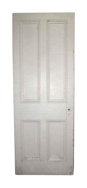 Four Vertical Panel Door