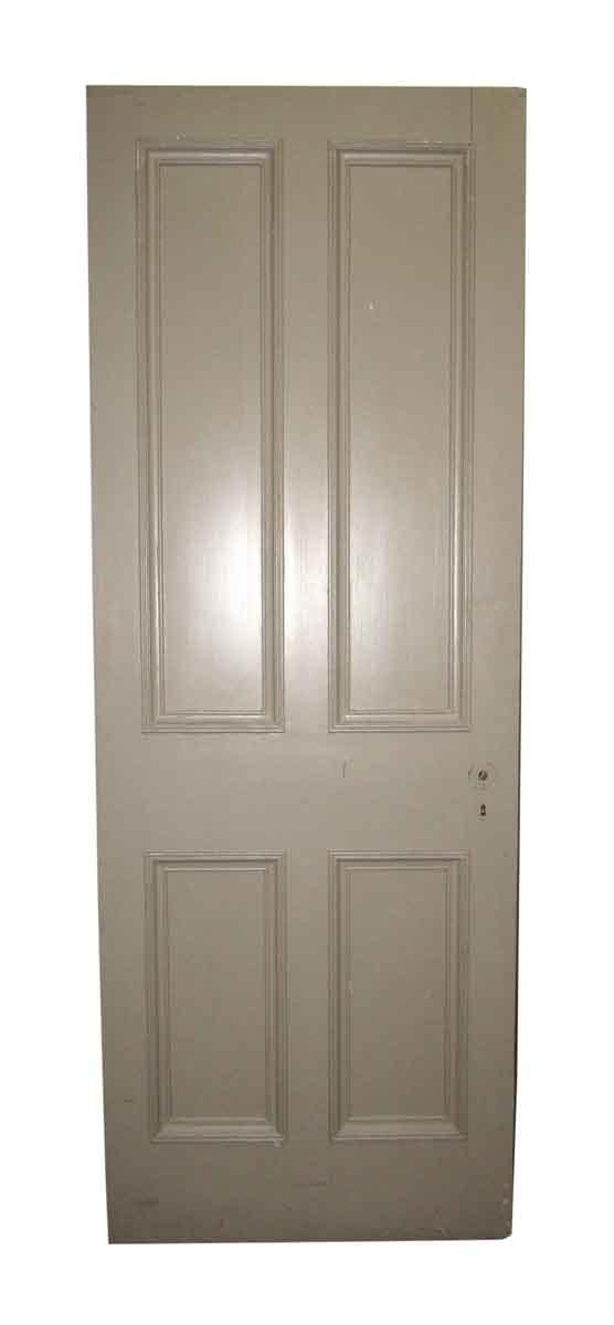 Four Vertical Panel Tan Door