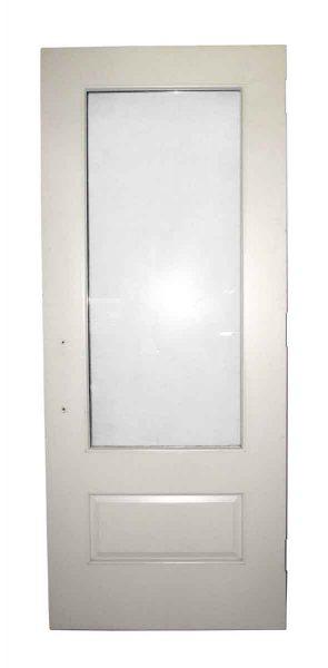 Half Glass Door with Raised Lower Panel