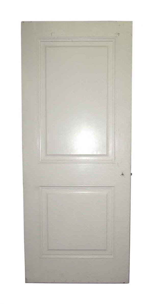 Mid Century Wooden Two Panel Door