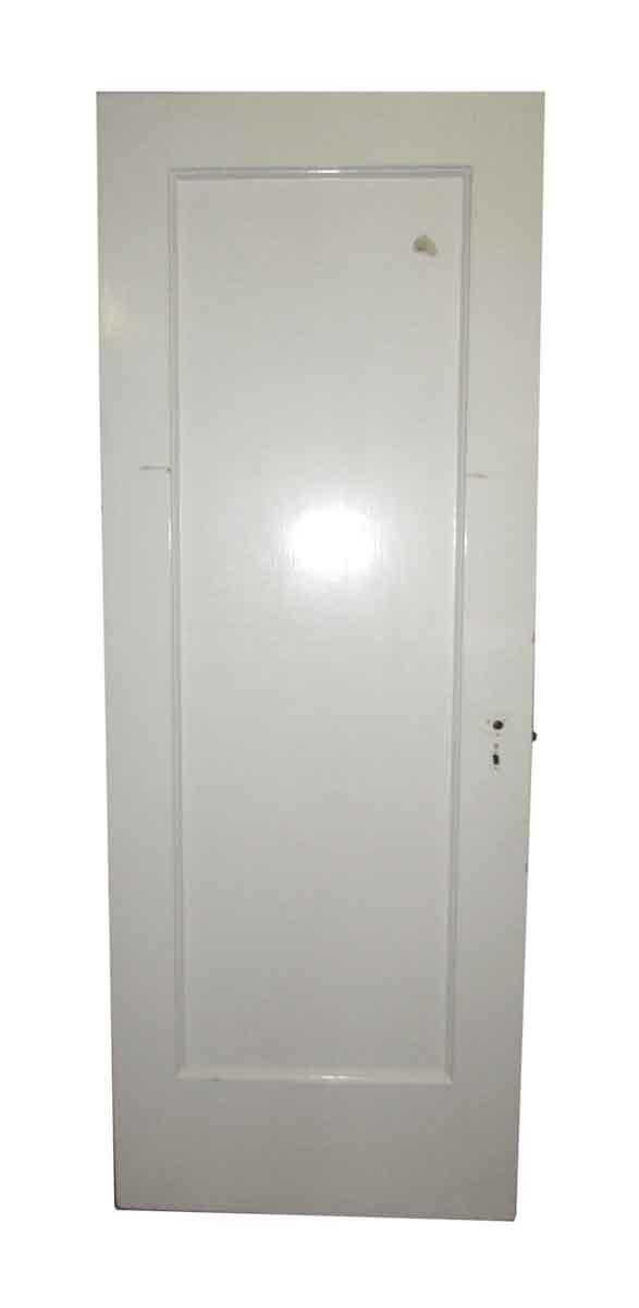 Pre War Building Single Panel Door