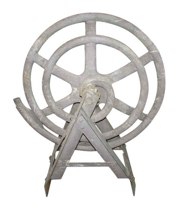 Antique Cast Iron Machine Pulley