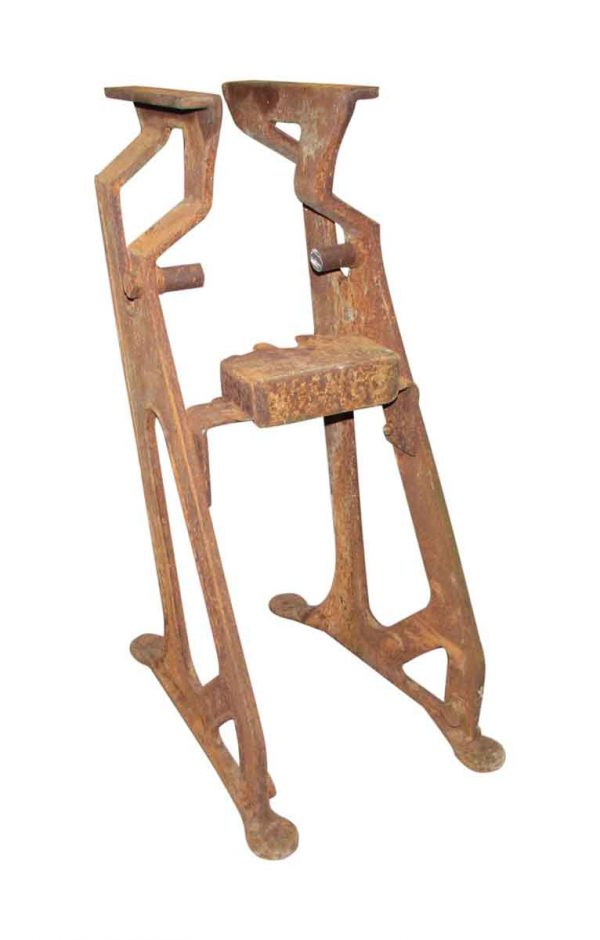 Antique Cast Iron Machinery Bracket