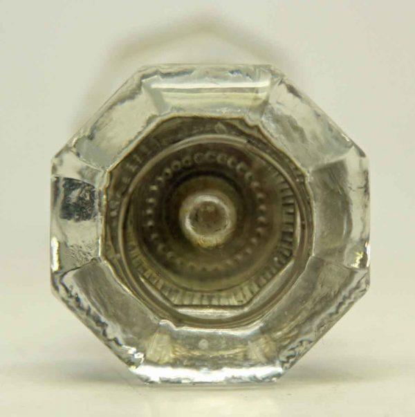 Flat Top Glass Knob Set