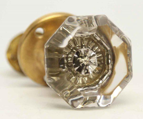 Glass Knob with Mercury Star & Closet Latch