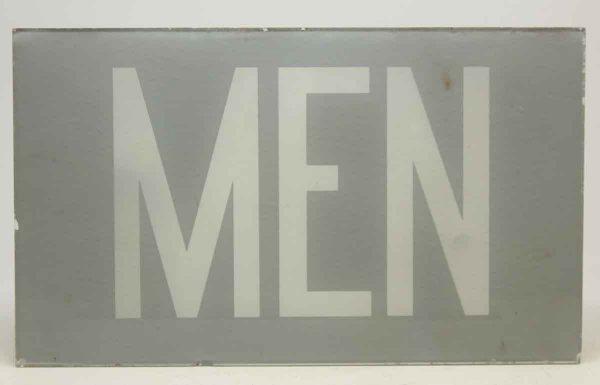 Pair of Glass Men Signs