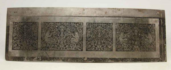 Ornate Sheet of Metal Displaying Musical Centaur