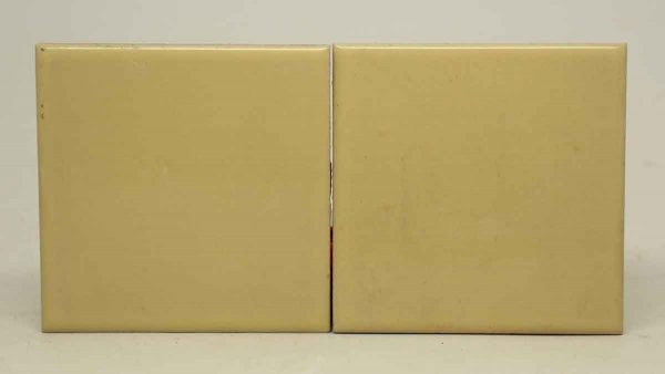 Pair of Medium Yellow Tiles