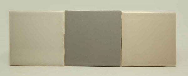 Set of Five Cool Colored Tiles