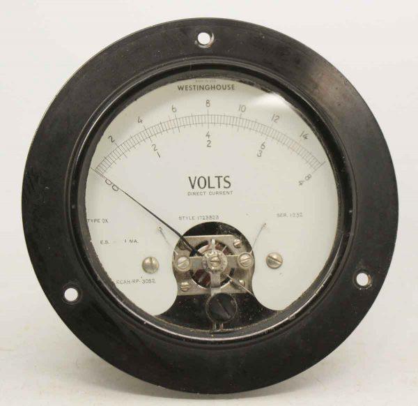 Olde Westinghouse Volt Meter