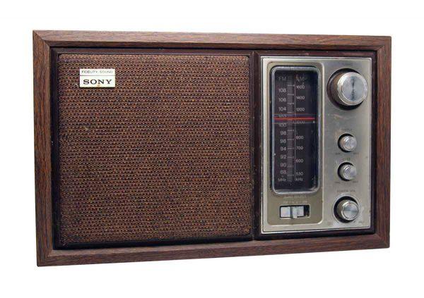 Old Sony Fm/Am Radio